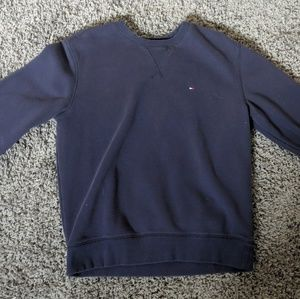 Tommy Hilfiger Navy Crew Neck Sweater
